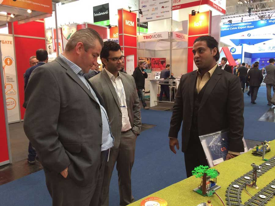 SaffronTech At CeBIT