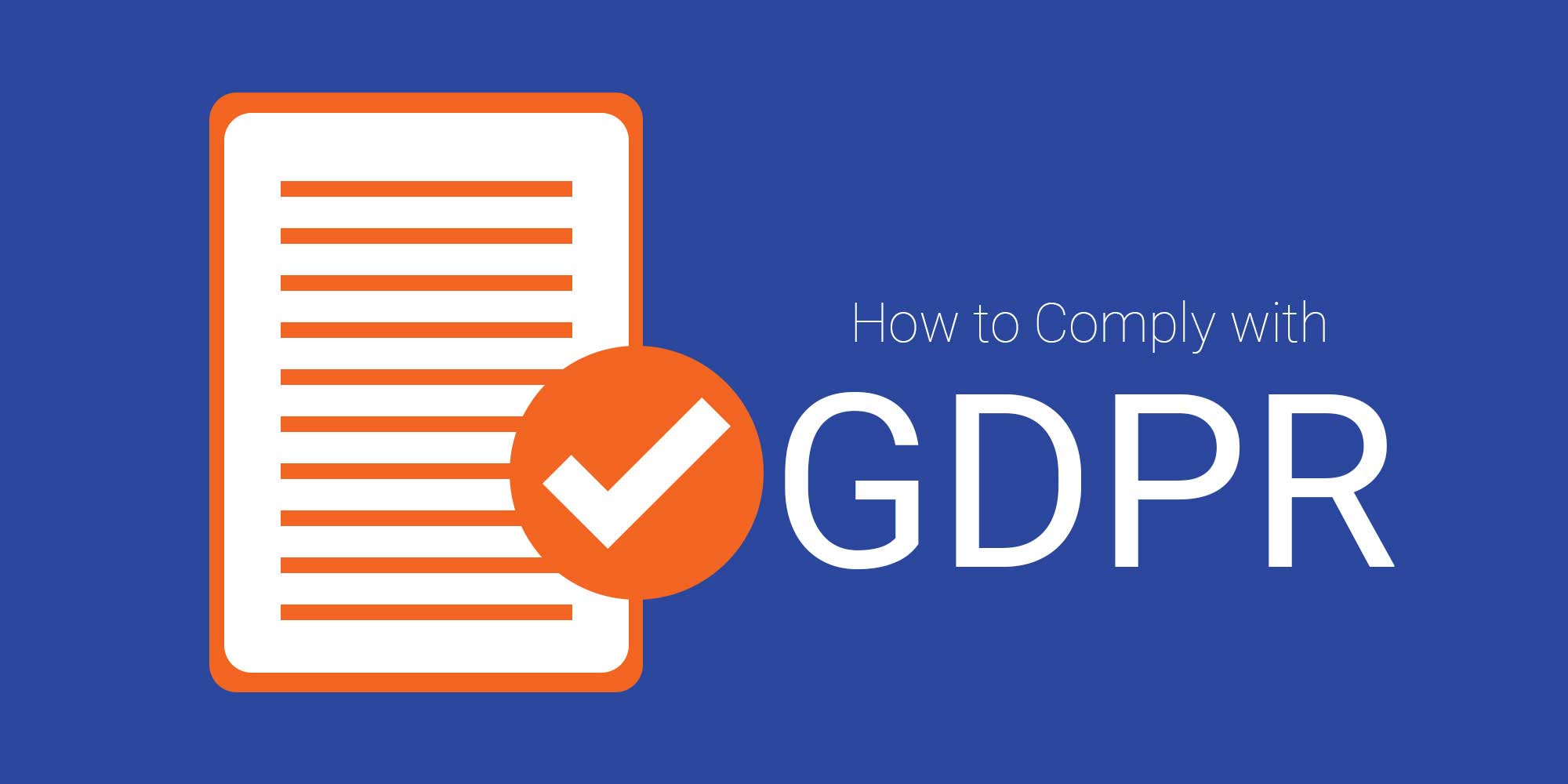 COMPLY WITH GDPR AS A WEBSITE OWNER